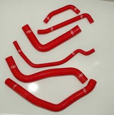 Red Tubes For Suzuki 2006-2009 GSX-R GSXR 600 / 750 K6 Radiator Silicone Hose