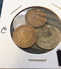 Rare 1890 Liberty Nickel & 3 Other Old Us Coins! Awesome Coin Collecting Start