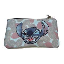 Disney Lilo & Stitch Stitch Hawaiian Print School Pencil/makeup case Preowned