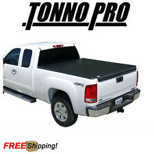 Tonno Pro Tri-Fold Soft Tonneau Cover Fits 2007-2013 GMC Sierra 8' Bed