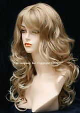 BOUNCY LONG WAVY Light blonde mix WIG JSCA T27/613