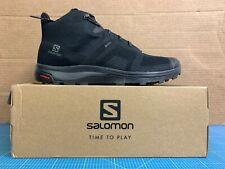 Salomon Outline Prism Mid GTX Herren Black Black/Castor Gray EUR 46 2/3 /UK11.5