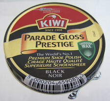 Kiwi Shoe Polish Parade Gloss Prestige  BLACK .  (50 ML)   (SW)