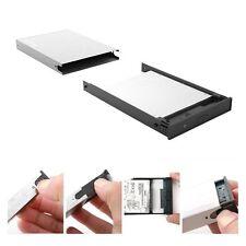 """USB 3.0 Festplatten Gehäuse für 2,5"""" SATA HDD SSD Festplattengehäuse Aluminium"""