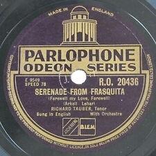 78rpm RICHARD TAUBER my hero / serenade from frasquita