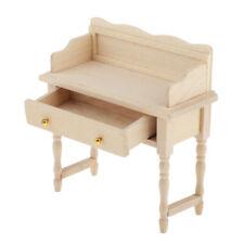 1/12 Holz Möbel Puppenstube Wohnzimmer Arbeitszimmer Puppenhausmöbel Zubehör