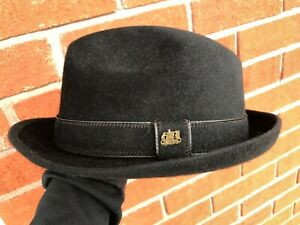 Black Vintage Stetson Playboy Fur Fedora - Mens Hat Size 6 7/8
