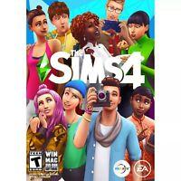 DVD VERSION --The Sims 4 (PC Windows Mac) Brand New Factory Sealed (DVD-ROM)