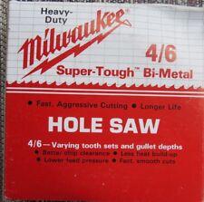 """Milwaukee Hole Saw Pn 49-56-0230 4 1/2"""" Nib"""
