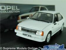 OPEL KADETT D GT/E MODEL CAR 1:43 WHITE IXO COLLECTION VAUXHALL ASTRA MK1 K8