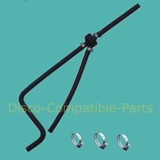 Land Rover Discovery 300 TDi Expansion Tank Bleed Hose + Stainless Steel Clamps