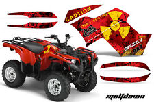 Yamaha Grizzly 550/700 AMR Racing Graphics Sticker Kit 07-13 ATV Decals MELTDOWN