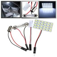 5730 SMD 24 LED Licht Panel BA9S Adapter Innenraumbeleuchtung Auto Soffitte 12V