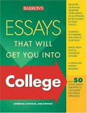 Essays That Will Get You into College (Essays That Will Get You Into...Series)