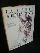 Yvette et Yvon Israel: La carte à belles dents (CPA fantaisie) Rabier - G.Bouret