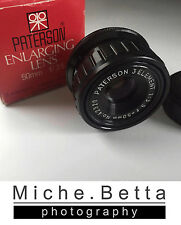 Patterson 50mm f3.5 Lens Enlarger Enlarging 'NICE'