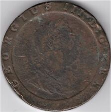 1797 2 Pence Britannia Great Britain Copper