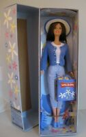 New Barbie Little Debbie Snacks 2001 Special Edition Doll Mattel Blue Sweater