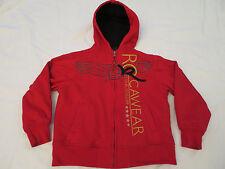 Rocawear Red & Black Sweatshirt Fleece Hoodie Young Boys 7  L