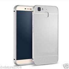 Custodia BUMPER METAL SILVER Alluminio Metallo Cover Case Per Huawei P9 lite 5.2