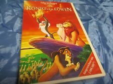 Der König der Löwen  , Walt Disney  Meisterwerk  , VHS Video Film , Kult  / # B