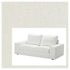 IKEA Kivik 2-Seat Cover Blekinge White Sealed 100%Cotton Dye-Able NEW Loveseat