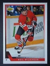 NHL 378 Neil Wikinson Chicago Blackhawks Upper Deck 1993/94