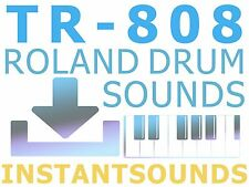 Roland Tr 808 Drum Machine Sounds SAMPLES Collection Analog Library Vintage NOW