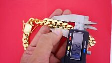 335 Grams Miami Cuban Link Chain Solid Gold 10K Necklace Best Deal Video 12.6 mm