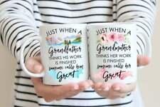 Great Grandparent Mug Set.pregnancy Announcement.great Grandpa Mug.great Grandma