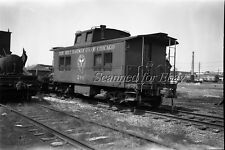 Belt Railway of Chicago Caboose Apr 69 ORIGINAL PHOTO NEGATIVE-Railroad
