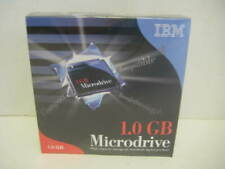 NEW IBM 1 GB Microdrive CompactFlash w CF+II PC Card Adapter Plug-In Module HDD