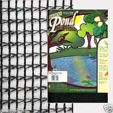 "Deluxe 10'x25' Pond Net/Netting-w/ 3/8"" Mesh-Fish-Bird-Garden-Pool-Leaf-Fall"