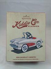"New ListingHallmark Keepsake Ornament Kiddie Car Classics ""1958 Chevrolet Corvette"" New"