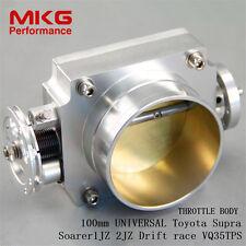 "Throttle Body 4"" 100mm High Flow For Toyota Supra  Soarer 1JZ 2JZ Drift race SL"