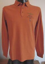 100% Aeronautica Militare Herren Polo- Shirt, Langarm; Gr.: XL