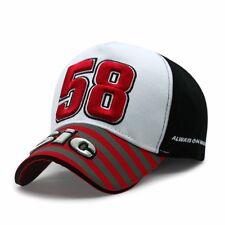 Marco Simoncelli Cap Motorsport Moto Italie 58 Rijders Baseball Hat Buitensport