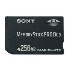 SONY PSP Old Camera MS DUO memory card 256MB MAGIC GATE MEMORY STICK PRO DUO