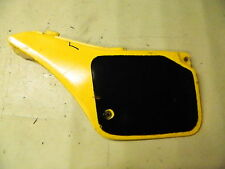 86 RM125 RM 125 Suzuki left rear back side cover panel plastic