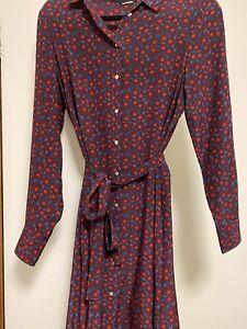 Marimekko Silk Dress - Size 38