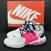 Nike React Presto GS Big Girls Youth Grade School Running Shoes Women Sneakers