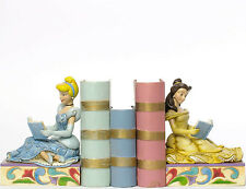 Enesco Jim Shore Disney Traditions Disney Princess Bookends NIB 4033970