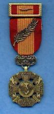 Vietnam Cross of Gallantry Award medal with ribbon bar citation with Palm device
