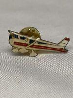 Vintage Airplane Pinback Pin
