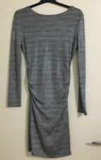 Ladies GUESS Silver Stretch Body Con Dress. Size S-M. As New