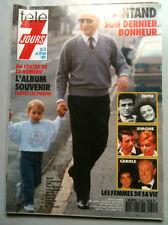 Télé 7 Jours 23/11/1991  L'Album de la vie de Montand, Edith, Simone, Carole