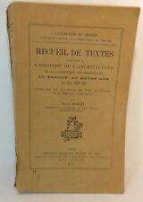 Victor Mortet. Recueil de textes histoire de l'architecture 1911