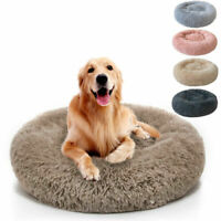 Small Large Pet Dog Puppy Cat Calming Bed Warm Soft Plush Sleeping Mat Kennel