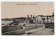 Postal Años 1936 Palma de Mallorca ( Vista d´es Jonquet )  usada