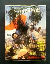 Vintage ~ 1983 Superman III Movie Trading Cards Box ~ 36 Sealed Wax Packs